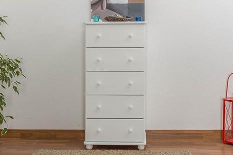 Dresser solid pine wood Junco 141 - Dimensions 123 x 60 x 42 cm