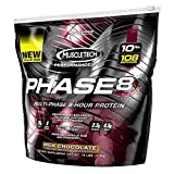 MuscleTech Phase 8 Milk Chocolate 10 lbs (4.5 kg) by Muscletech