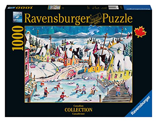 Ravensburger Shinny in Trinity Canadian Collection Canadienne Puzzle (1000-Piece) (Ravensburger Canada compare prices)