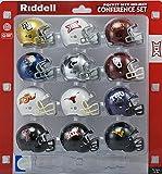 Big 12 Conference Conference Mini Helmet Set Team Color