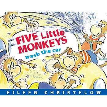 Set A Shopping Price Drop Alert For Five Little Monkeys Wash the Car