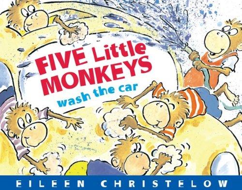 Five Little Monkeys Wash The Car (A Five Little Monkeys Story) front-486915
