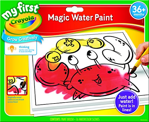 Crayola; My First Crayola; Magic Water Paint; Art Tools; 16 Pages and Brush; The Paint is in the Paper (Magic Paint Set compare prices)