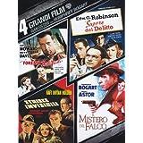 4 grandi film - Gangsters con Humphrey Bogart - La foresta pietrificata + Il sapore del delitto + Strisce invisibili...