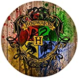 """Harry Potter Hogwarts Edible Image Photo Sugar Frosting Icing Cake Topper Sheet Birthday Party - 8"""" Round - 73801"""