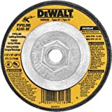 DEWALT DW8435 4-1/2-Feet by 1/8 by 5/8-11 Pipeline Cutting / Grinding Wheel