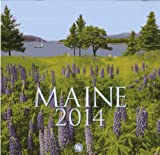 img - for 2014 Maine Wall Calendar book / textbook / text book
