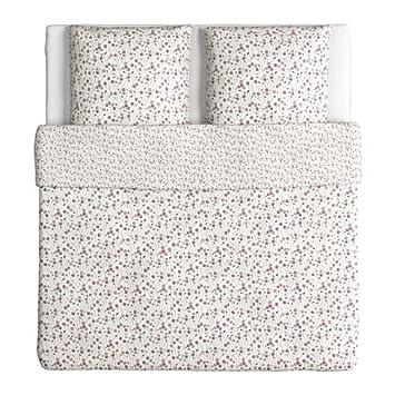Bettwäsche 135x200 Baumwolle Renforce  mit Reißverschluss 2 teilig L-8023