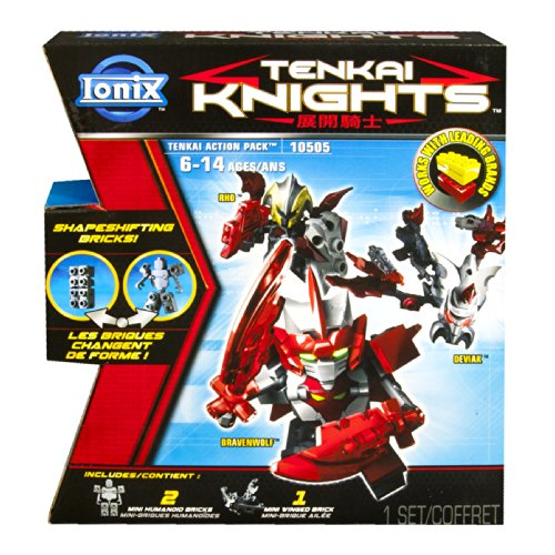 Ionix Tenkai Knights Action Pack 10505 (Bravenwolf/Rho/Deviak) - 1