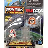 Angry Birds Star Wars Telepods Series 2 Wicket W. Warrick Bird & Shock Trooper Pig - B00LS2XYJS
