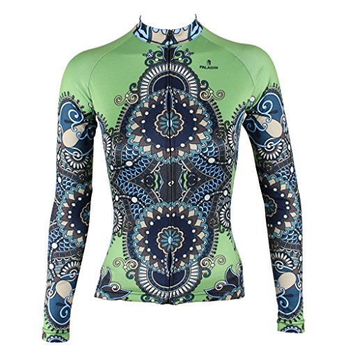 qinying-women-patterns-stylish-breathable-bicycle-jersey-long-sleeve-green-m