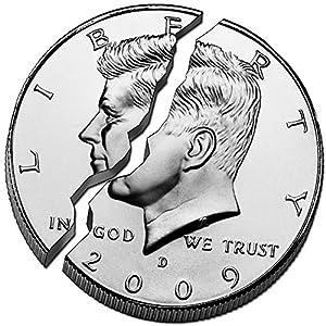 Magic Biting Coin Bite Restore Half Dollar by Magic Palace