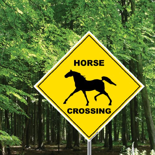 Horse Crossing Sign - 22