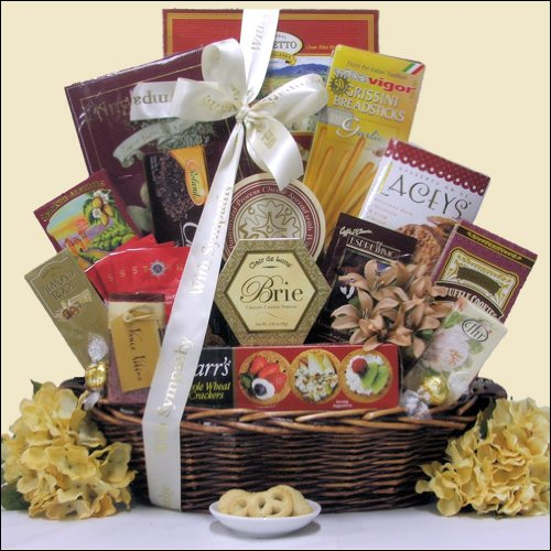 With Deepest Sympathy: Condolence Gift Basket