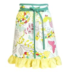 Garden Beauty Half Apron