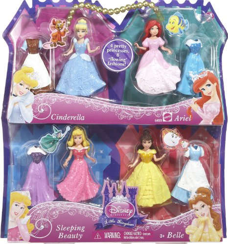 Disney Princess Favorite Moments 4-Pack Gift set-Styles May Vary