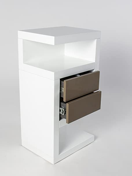 Bedside Cabinets White Gloss Bedside Cabinet White