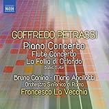 Petrassi: Piano Concerto   Flute Concerto [Mario Ancillotti, Bruno Canino, Francesco La Vecchia] [Naxos: 8573073]