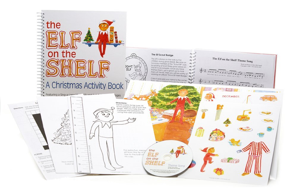 The Elf on the Shelf: Activity Book