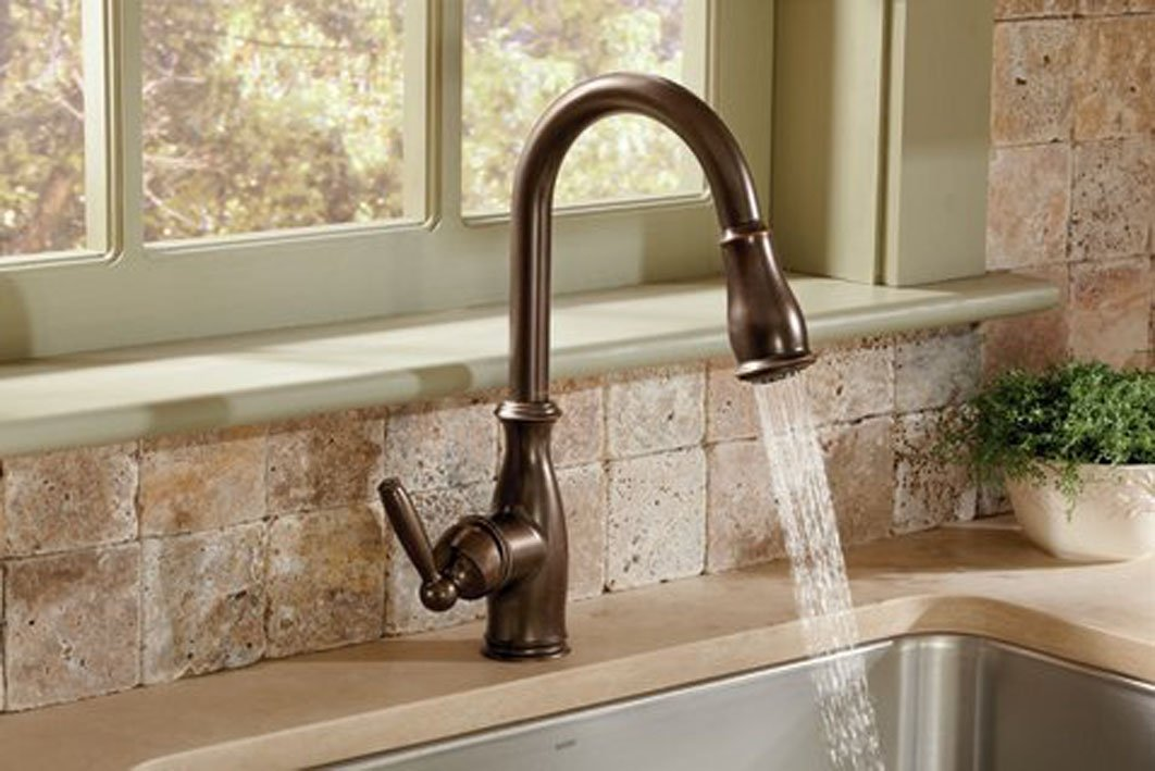 Beneficial Of Oil Rubbed Bronze Kitchen Faucet Kitchen