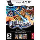 Games For Laptop: Rollercoaster Tycoon 3 with Expansion Packs 1 And 2 (PC)by Namco Bandai