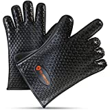 [BLOWOUT SALE] - Grill Armor Heat Resistant BBQ Silicone Gloves For Cooking, Grilling, Baking, Smoking