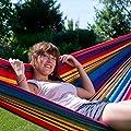Ampel 24 Ein- oder Mehrpersonen Hängematte | 100% Baumwolle | atmungsaktiv | mit oder ohne Spreizstab von Ampel 24 auf Gartenmöbel von Du und Dein Garten