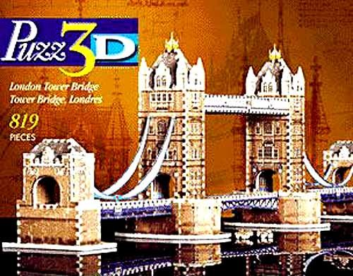 London Tower Bridge 819-piece 3D Puzzle