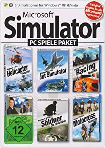 microsoft simulator pc spiele paket helicopter simulator. Black Bedroom Furniture Sets. Home Design Ideas