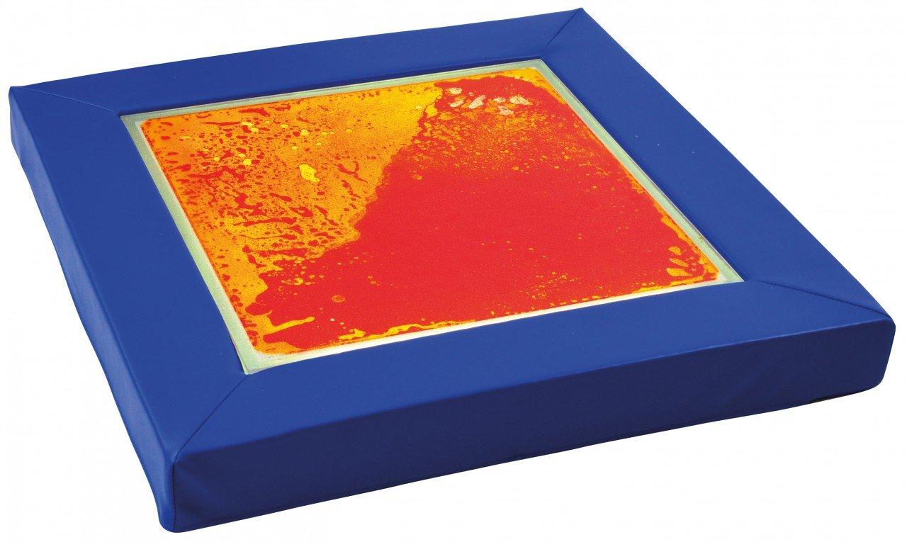 Faszinationspanel gelb-rot / Lichtplatte mit Schaumstoffrahmen + Netzteil / Maße: 70 x 70 x 7 cm / Lichtplatte 50 x 50 cm / Belastbar bis 300 günstig online kaufen