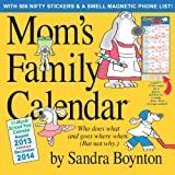 Mom's Family 17-Month 2014 Calendar
