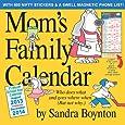 Mom's Family 17-Month 2014 Calendar