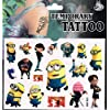 3 x Packets Despicable Me Tattoos Fun Minion Tattoo Ideal Minion Party Bag Filler