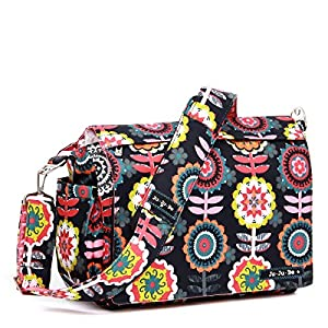 Ju-Ju-Be Dancing Dahlias Better Be Messenger Diaper Bag by Ju-Ju-Be