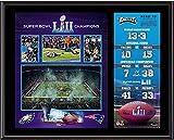 Philadelphia Eagles 12'' x 15'' Super Bowl LII Champions Sublimated Plaque - Fanatics Authentic Certified