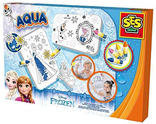 SES-Creative-13081-Images--colorier-dans-le-bain-Frozen