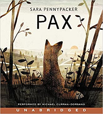 Pax CD written by Sara Pennypacker
