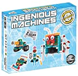 Robot-Kit-For-Kids-Ingenious-Machines-Remote-Control-Toy-Building-Kit-TG633-Awesome-Fun-Building-Set-Construction-Toy-by-ThinkGizmos--All-batteries-included