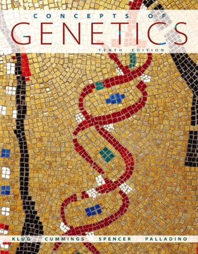 Concepts of Genetics Plus MasteringGenetics with eText --...