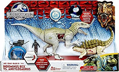 Jurassic World Capture Vehicle Indominus Rex vs Ankylosaurus Exclusive Vehicle Set