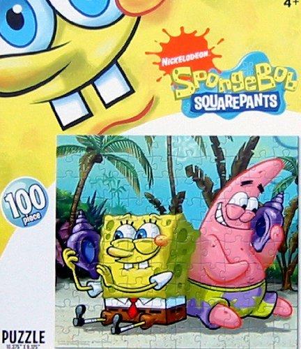 Nick Jr Spongebob Puzzle - 100cps Spongebob & Patrick Puzzles