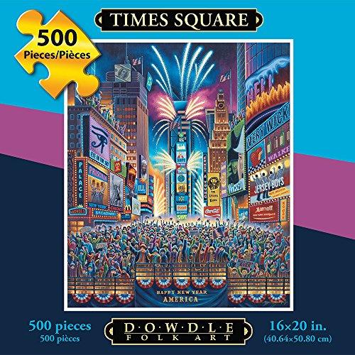 Jigsaw Puzzle - Times Square 500 Pc By Dowdle Folk Art