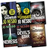 Jo Nesbo Jo Nesbo Collection 6 Books Set Pack RRP £47.94 (The Next Stieg Larsson) (The Leopard (HardCover), Nemesis, The Devil's Star, The Snowman, The Redeemer, The Redbreast,)