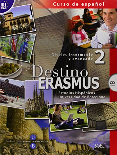 Destino Erasmus 2+CD (Spanish Edition)