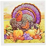 3dRose Happy Thanksgiving - Greeting Cards, 6 x 6 inches, set of 6 (gc_3206_1)