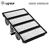 Viugreum 400W LED Flood Lights Outdoor, 40000 Lumen, Warm White (2800-3200K) 60° Beam Angle LED Spot Light, IP67 Waterproof Security Light, Stadium Lights Landscape Work Lights, Fast Shipping from USA (Color: 400W Warm White)