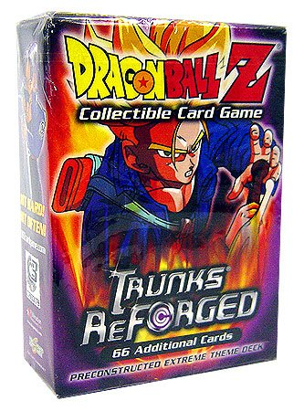 Dragonball Z Score Trading Card Game Trunks Reforged Preconstructed Extreme Theme Deck