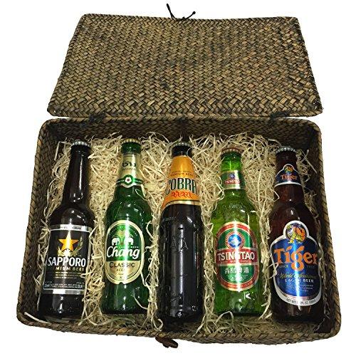 asiafoodland-bier-geschenkkorb-supreme-5-flaschen-aus-5-landern