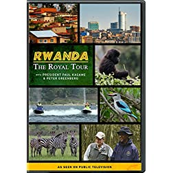 Rwanda: The Royal Tour DVD