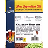Home Brew Ohio B017WBW9Z8 FBA_Does Not Apply Brewer's Best One Gallon Beer Ingredient Kit-Cranberry Dark Wit, Brown
